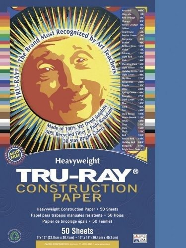 PAC103058 - Tru-Ray Construction Paper - 1