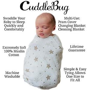 Star Swaddle por CuddleBug