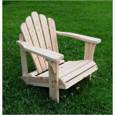 Westport Kids Adirondack Chair Color: Natural