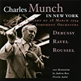 echange, troc  - Charles Munch in New York