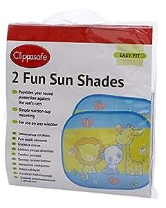 Clippasafe Fun Sun Shade (2-Pack)