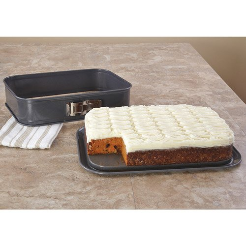 Kaiser Bakeware LaForme Plus 13- by 9-Inch Rectangular Springform Pan