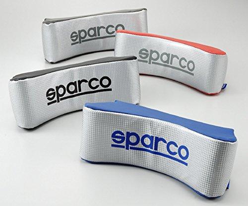 SparcoCORSA カーボンネックピロー グレー/シルバー SPC4002 SparcoCORSA(スパルココルサ)