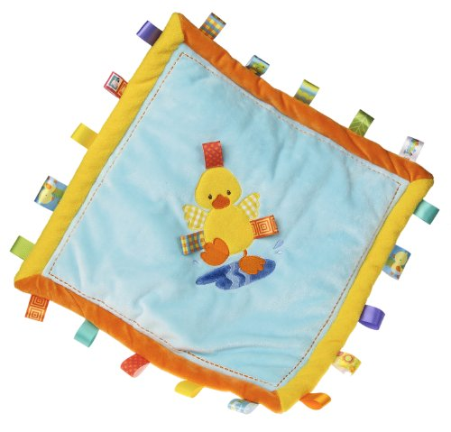 Taggies Dipsy Cozy Blanket, Duck front-1078785
