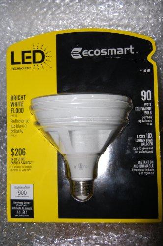 Ecosmart Par38 15W 90W Equivalent Led Flood Light Bulb 3000K Bright White