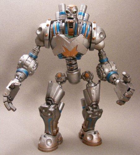 Picture of Mattel DC Universe METALLO walmart wave 5 build a figure 100% COMPLETE (B003TZQHGE) (Mattel Action Figures)