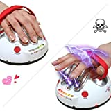Delmkin Shock polygrapher game Christmas music sound lightning vent tricky toys,Party entertainment toys