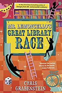 Book Cover: Mr. Lemoncello's Great Library Race