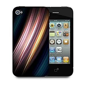 Snoogg Motion Senses Designer Protective Phone Back Case Cover For Apple Iphone 4