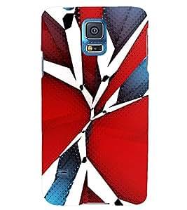 TRICOLOURED VINTAGE Pattern 3D Hard Polycarbonate Designer Back Case Cover for Samsung Galaxy S5 Mini :: Samsung Galaxy S5 Mini G800F