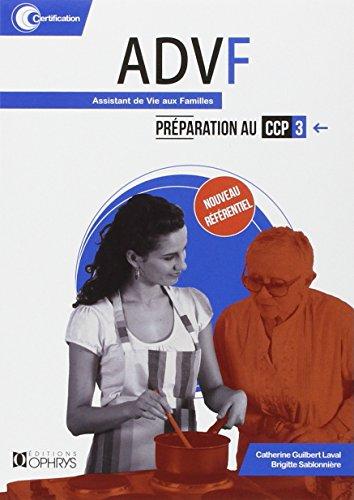 ADVF assistant de vie aux familles, préparation au CCP 3