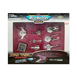 Micro Machines Star Trek Television Series I Box Set