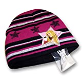 Girl's Disney Hannah Montana Striped Knit Hat with Eartunes (7-14)