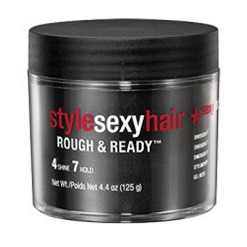 Sexy Hair Sysh Rough and Ready Dimension Pomade with Hold, 4.4 Ounce - Sexy Hair