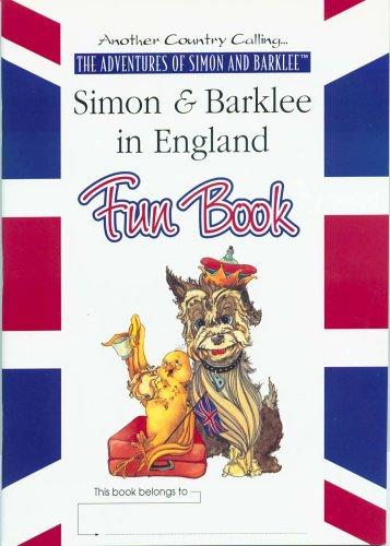 Simon & Barklee in England, Fun Book, Catherine Scherer
