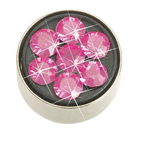 Nickel Free Navel Jewelry, Swarovski Daisy Rose