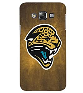 PrintDhaba Leopard Face D-5183 Back Case Cover for SAMSUNG GALAXY GRAND 3 (Multi-Coloured)