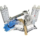 10' Fast Set Concrete Foundation Crack Repair Kit-Our Most Popular DIY Concrete Crack Repair Kit