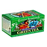 Celestial Seasonings Green Tea, Blueberry Breeze, 20-Count Tea Bags (Pack of 6) ~ Celestial Seasonings