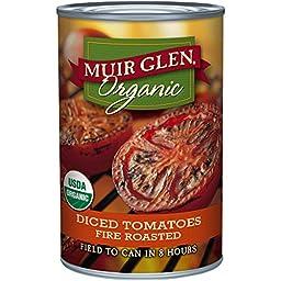 Muir Glen Organic Diced Tomatoes - Fire Roasted - 14.5 oz