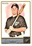 2011 Topps Allen & Ginter GLOSSY Edition Baseball Card (#'d out of 999) #278 Travis Snider Toronto Blue Jays In a