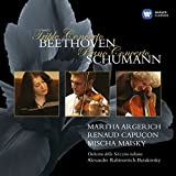 Beethoven : Triple Concerto - Schumann : Concerto pour piano