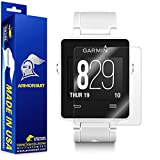 ArmorSuit MilitaryShield - Garmin Vivoactive Screen Protector [2-Pack] Anti-Bubble Ultra HD & Touch Responsive Shield with Lifetime Replacements
