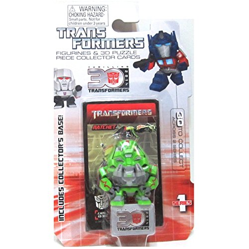Ratchet Transformers Movie 30th Anniversary 1.5 Inch Series 1 Mini Figure - 1