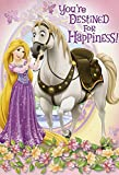 Greeting Card Birthday Disney Tangled You're Destined for Happiness!
