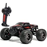 TOZO C2032 RC CARS High Speed 30MPH 1/12 Scale RTR Remote control Brushed Monster Truck Off road Car Big Foot RC 2WD ELECTRIC POWER BUGGY W/2.4G Challenger Red