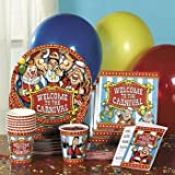 Under the Big Top Tableware and Invites