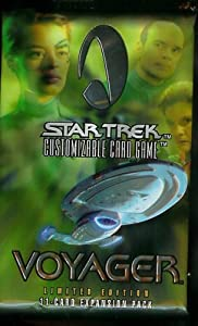 Star Trek Voyager Limited Edition Trading Cards Pack (11 cards per pack)
