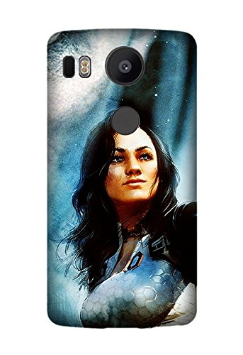 LG Nexus 5X/Google Nexus 5X Case, [Drop Protection] Scratch Resistant Perfect-Fit Shock Absorbing Non-Slip Game Mass Effect 2 Hard Armor Case