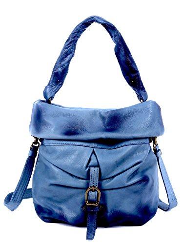 old-trend-lotus-bucket-leather-bag