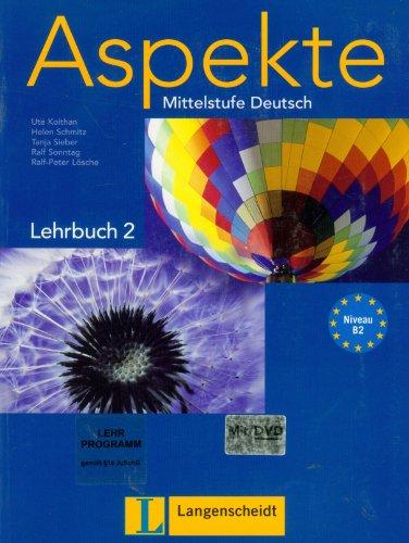 Aspekte: Lehrbuch 2 MIT DVD (German Edition)