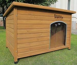 kennels imperial niche pour chien en bois avec sol amovible pour un nettoyage facile mod le. Black Bedroom Furniture Sets. Home Design Ideas