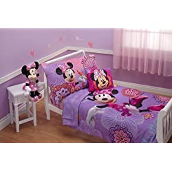 Purple Minnie Mouse Toddler Bedding Set