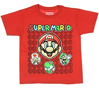 "Super Mario Brothers Boys Nintendo ""Hey You Guys"" Shirt"