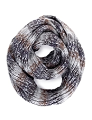 North Coast Knitted Oversized Snood Scarf with Wool