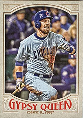 2016 Topps Gypsy Queen #104 Ben Zobrist Chicago Cubs Baseball Card