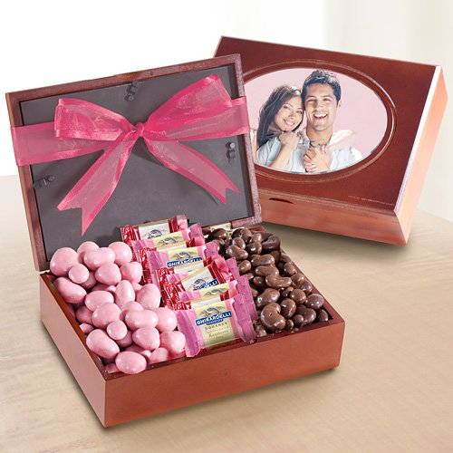 Berry Sweet Chocolates in Wooden Box  Photo Frame