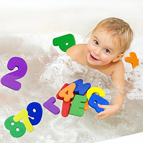 Bath Toys For Boys : Bees me bath toys for toddlers foam alphabet letters
