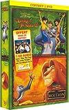 echange, troc Le Roi Lion / Le Livre de la Jungle 2 - Bipack 2 DVD [Inclus le CD audio Can You Feel - Star Academy 3]