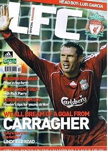 LFC Liverpool football magazine No 227 Dec 2006 inc PEPE REINA poster