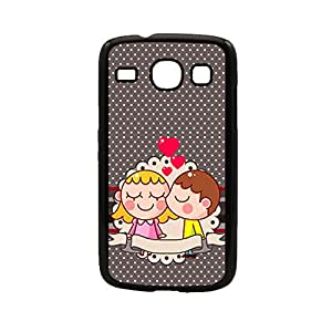 Vibhar printed case back cover for Samsung Galaxy Core 2Love