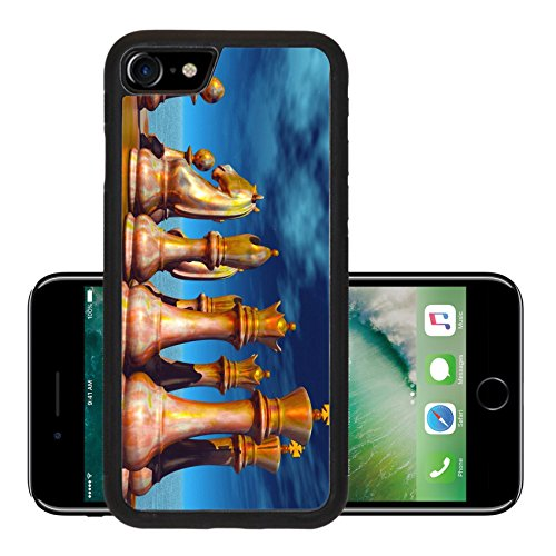 Liili Premium Apple iPhone 7 iPhone7 Aluminum Snap Case Chess battle IMAGE ID 11758121 (Row Row Fight The Power compare prices)