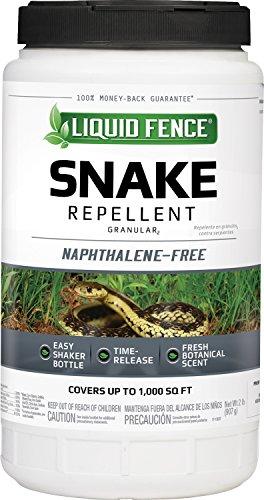 Liquid Fence HG-80261 Snake Repellent Granules, 2-Pound