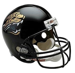 NFL Jacksonville Jaguars Deluxe Replica Football Helmet by Riddell