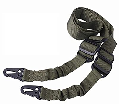 Ultimate Arms Gear Black Mount Strap Shoulder Comfort Pad Padded + Two-Point Sling, OD Olive Drab Green For Ruger American Mini-30 CZ 527