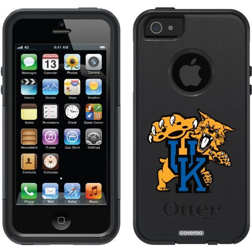 Best Price University of Kentucky Mascot design on a Black OtterBox® Commuter Series® Case for iPhone 5s / 5